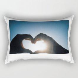 Polaroid Sun Love Rectangular Pillow
