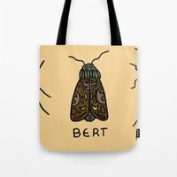 bugs Tote Bags featuring bugs. by MorningMajor