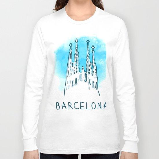Barcelona 02 Long Sleeve T-shirt