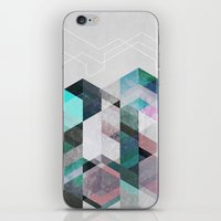 nordic iPhone & iPod Skins featuring Nordic Combination 23 by Mareike Böhmer