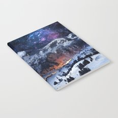 Mountain CALM IN space view Notebook