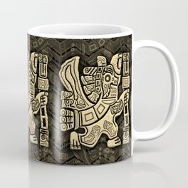 Aztec Eagle Warrior Coffee Mug