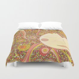 Even the Sun Needs a Nap Duvet Cover