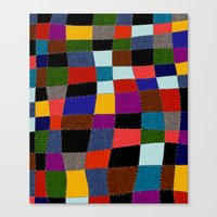quilt Canvas Prints featuring Quilt  by Tuuli Holman