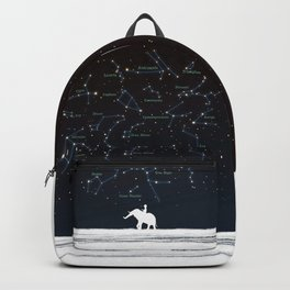 Falling star constellation Backpack