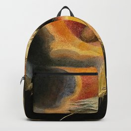 The Ancient Of Days Painting William Blake Backpack