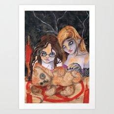 Voodoo Apprentices Art Print