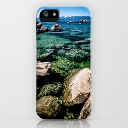 Refractions on the Rocks iPhone Case