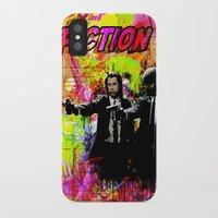 pulp fiction iPhone & iPod Cases featuring Pulp Fiction  by Zoé Rikardo
