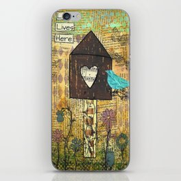 Love Lives Here iPhone Skin