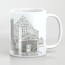 Berkley Rd House Black and White Coffee Mug
