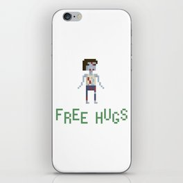 free hugs 4 iPhone Skin