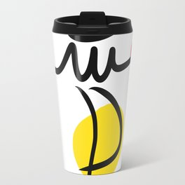 The Juggler of Life Minimal Art Design Travel Mug