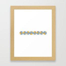 Chikyu (Earth) Framed Art Print