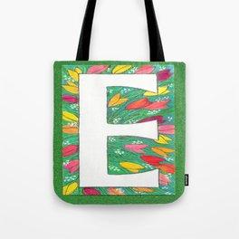 E is for Eloise, Ellen, Elly, Elizabeth-- and Even Edward Tote Bag