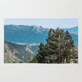 Treeline in the French Pyrénées Rug