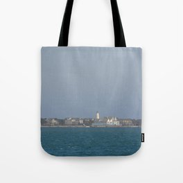 Ocracoke Island from the ferry Tote Bag