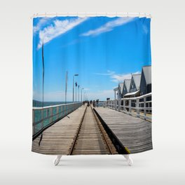 Busselton Jetty Shower Curtain