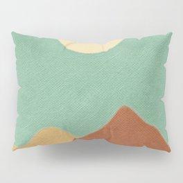 Sun Over Mountain Range Pillow Sham