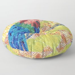 Feathered Friend  Floor Pillow