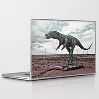 dino Laptop & iPad Skins featuring Dino by Nick Douillard
