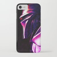 "battlestar iPhone & iPod Cases featuring ""Some Kinda' Crazy, Frakked Up Cylon Signal..."" by Cullen Rawlins"