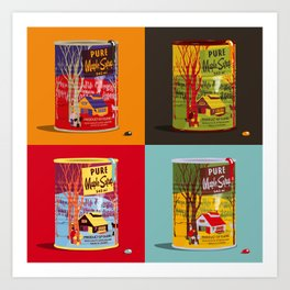 Purely Canadian Art Print
