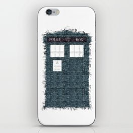 The Timey Wimey of Doctor Who iPhone Skin