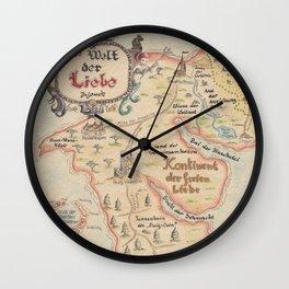Die Welt der Liebe Wall Clock