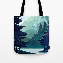 Canadian Mountain Tote Bag
