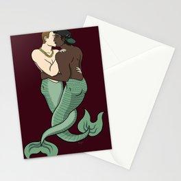 Mermen-lovers Stationery Cards