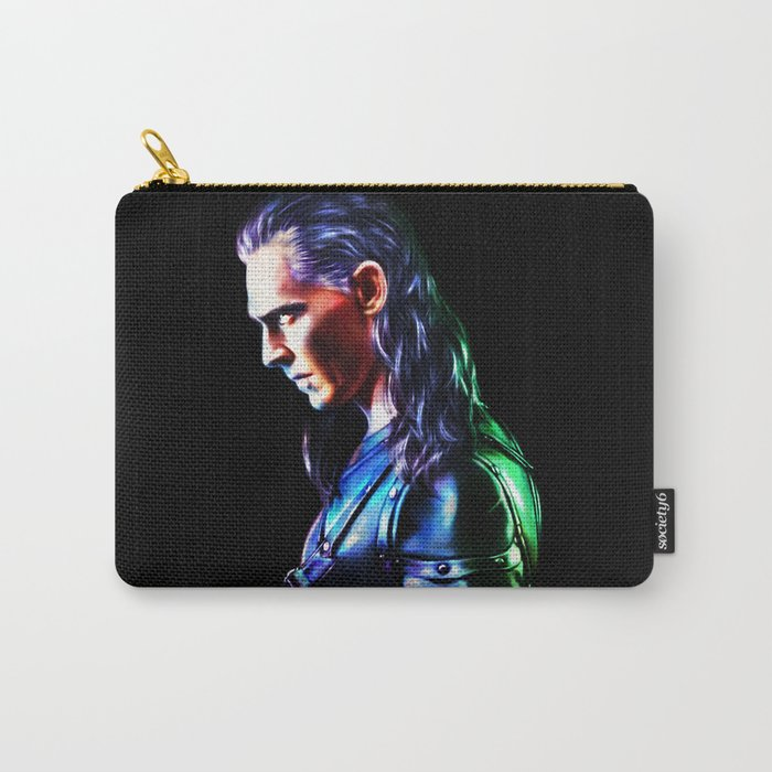 Loki - A Study In Perfection III Version One Carry-All Pouch