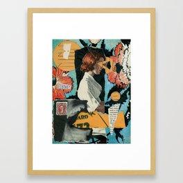 Sensory Input Framed Art Print