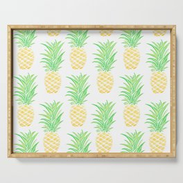 Pineapple on Repeat Serving Tray