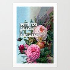 soundtrack Art Print