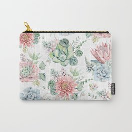 AMAZING SUCCULENTS Carry-All Pouch