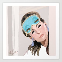 Holly Golightly  Art Print