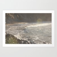 salt water Art Prints featuring Salt Water  by Shine