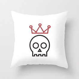 Hamlet. To be or not to be Throw Pillow