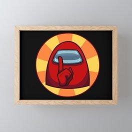 Among Us Game Framed Mini Art Print