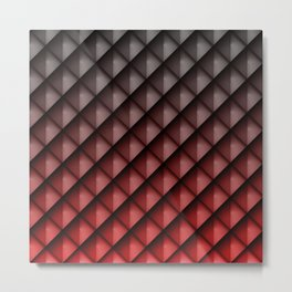Draco Red Metal Print