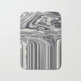 Eye Glitch Art Bath Mat