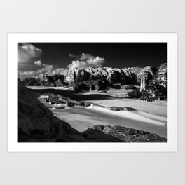 Untitled: Wadi Rum Art Print
