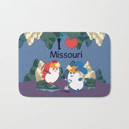 Ernest and Coraline | I love Missouri Bath Mat
