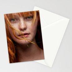 Kacy Red 1 Stationery Cards