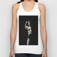 arnold Tank Tops featuring Arnold 1.0 by hssingh7