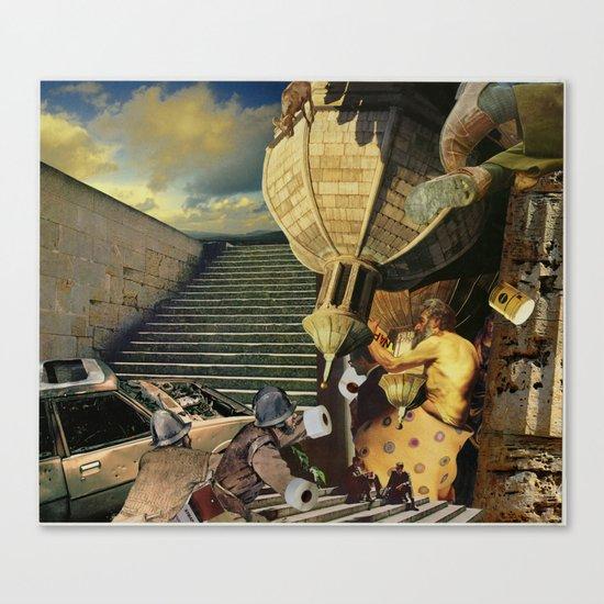 Strap Nap Beamix Canvas Print