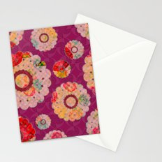 Doily full o'flowers Stationery Cards