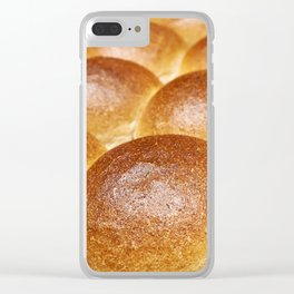 Sweet ruddy buns Clear iPhone Case