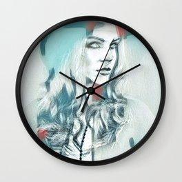 Arctica Rose Wall Clock
